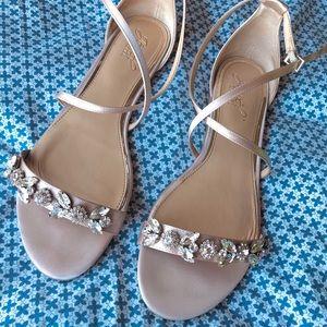 Badgley Mischka | Tessy Embellished Sandal